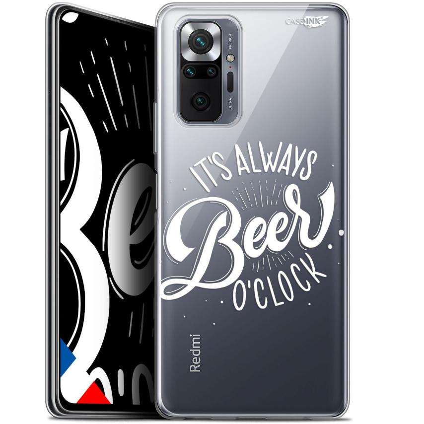 "Coque Gel Xiaomi Redmi Note 10 PRO (6.7"") Motif - Its Beer O'Clock"