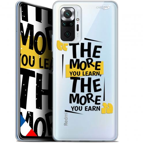"Coque Gel Xiaomi Redmi Note 10 PRO (6.7"") Motif - The More You Learn"