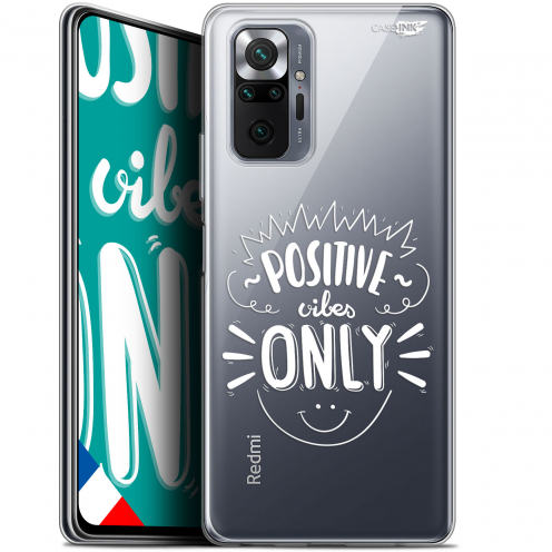 "Coque Gel Xiaomi Redmi Note 10 PRO (6.7"") Motif - Positive Vibes Only"