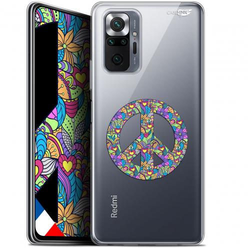 "Coque Gel Xiaomi Redmi Note 10 PRO (6.7"") Motif - Peace And Love"