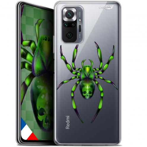 "Coque Gel Xiaomi Redmi Note 10 PRO (6.7"") Motif - Arraignée Verte"