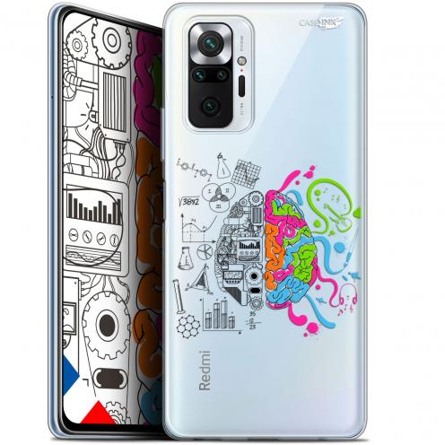 """Coque Gel Xiaomi Redmi Note 10 PRO (6.7"""") Motif - Le Cerveau"""