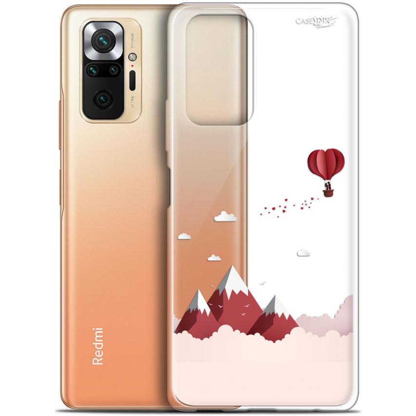 """Coque Gel Xiaomi Redmi Note 10 PRO (6.7"""") Motif - Montagne En Montgolfière"""
