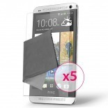 Zoom sur Films de protection HTC One Clubcase ® HD Lot de 5