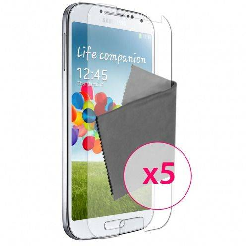 Films de protection Samsung Galaxy S4 Clubcase ® HD Lot de 5