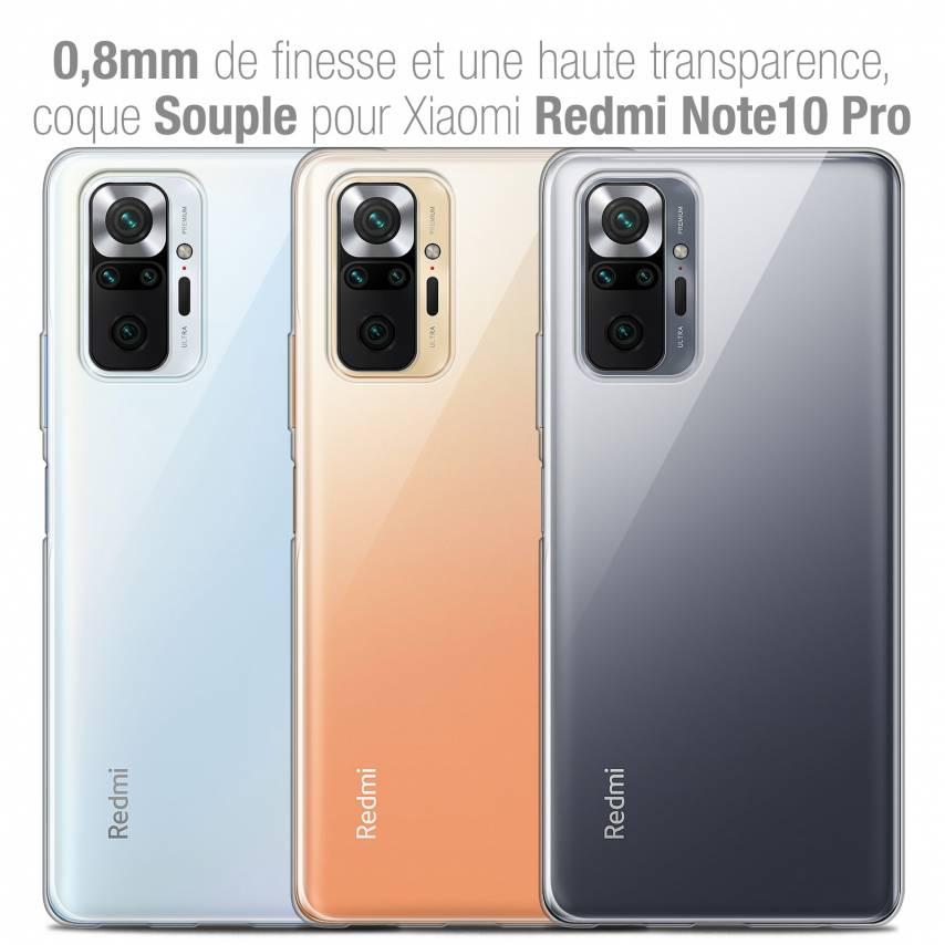 "Coque Xiaomi Redmi Note 10 PRO (6.7"") Extra Fine Souple Crystal Clear"