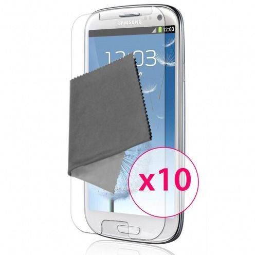 Zoom sur Films de protection Samsung Galaxy S3 Clubcase ® HD Lot de 10