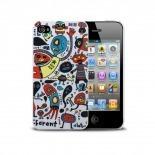 Visuel supplémentaire de Coque Muvit® Doodle monstres iPhone 4S/4