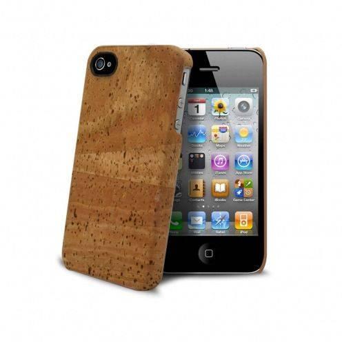 Visuel unique de Coque Corkcase® en fibre végétal de liège iPhone 4S/4