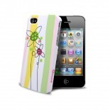Visuel unique de Coque Muvit® Doodle Flowers iPhone 4S/4