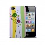 Visuel supplémentaire de Coque Muvit® Doodle Flowers iPhone 4S/4