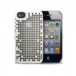 Visuel supplémentaire de Coque Freshfiber® Double Mesh iPhone 4S/4 Blanche