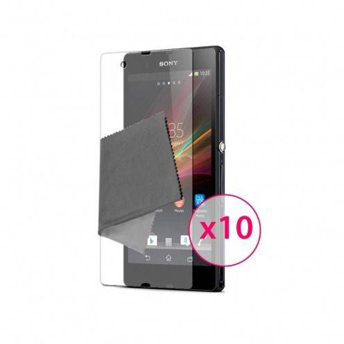 Films de protection Sony XPERIA Z Clubcase ® HD Lot de 10