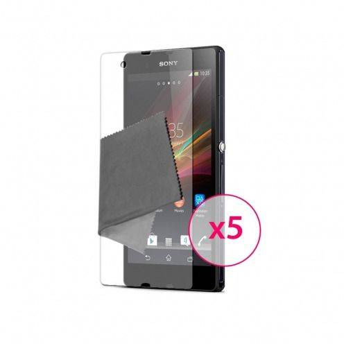 Films de protection Sony XPERIA Z Clubcase ® HD Lot de 5