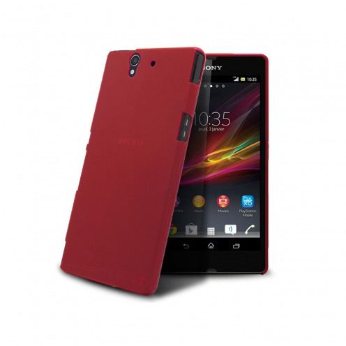 Coque Ultra Fine 0.3mm Frost XPERIA Z Rouge