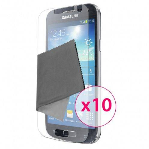 Zoom sur Films de protection Samsung Galaxy S4 Clubcase ® HD Lot de 10
