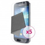Zoom sur Films de protection Samsung Galaxy S4 Clubcase ® HD Lot de 5