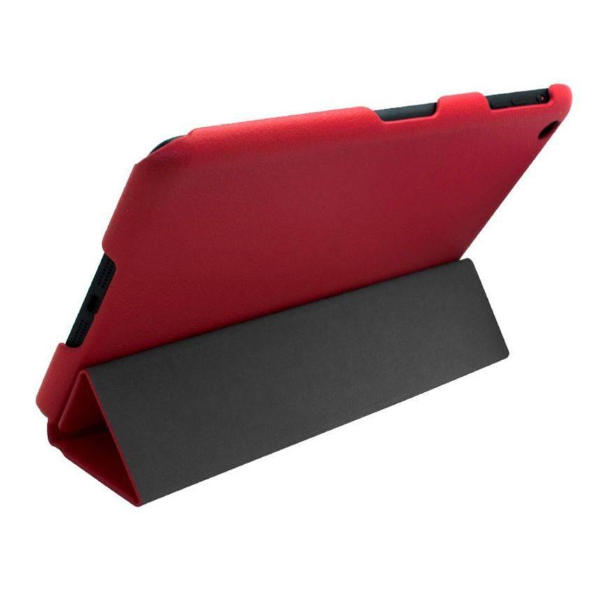Vue portée de Coque Ultra légère Smart Cover Stand iPad Mini Rouge