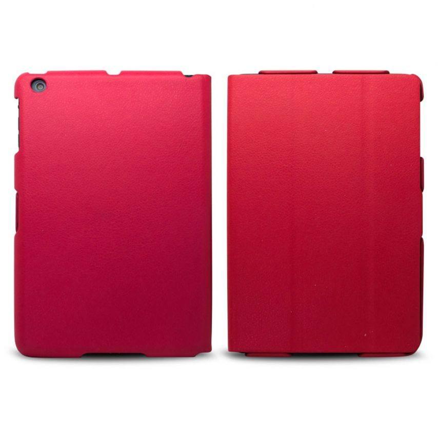 Visuel unique de Coque Ultra légère Smart Cover Stand iPad Mini Rouge