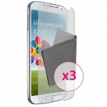 Zoom sur Films de protection Anti-Reflet Galaxy S4 Clubcase ® Lot de 3