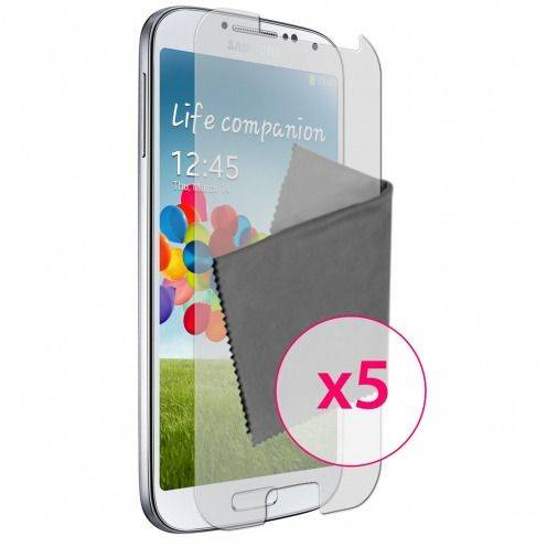 Zoom sur Films de protection Anti-Reflet Galaxy S4 Clubcase ® Lot de 5