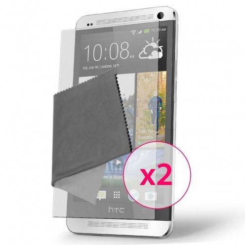 Films de protection Anti-Reflet HTC One Clubcase ® Lot de 2