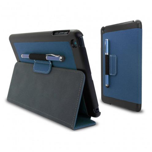 Coque Jeans Club Tissu Bleu Marine iPad Mini