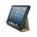 Vue complémentaire de Coque Club Tissu Blanche iPad Mini