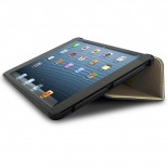 Photo réelle de Coque Club Tissu Blanche iPad Mini