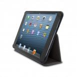 Vue complémentaire de Coque Club Tissu Noire iPad Mini