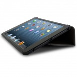 Photo réelle de Coque Club Tissu Noire iPad Mini