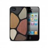 Visuel supplémentaire de Coque Bagheera Patchwork pour iPhone 4/4s
