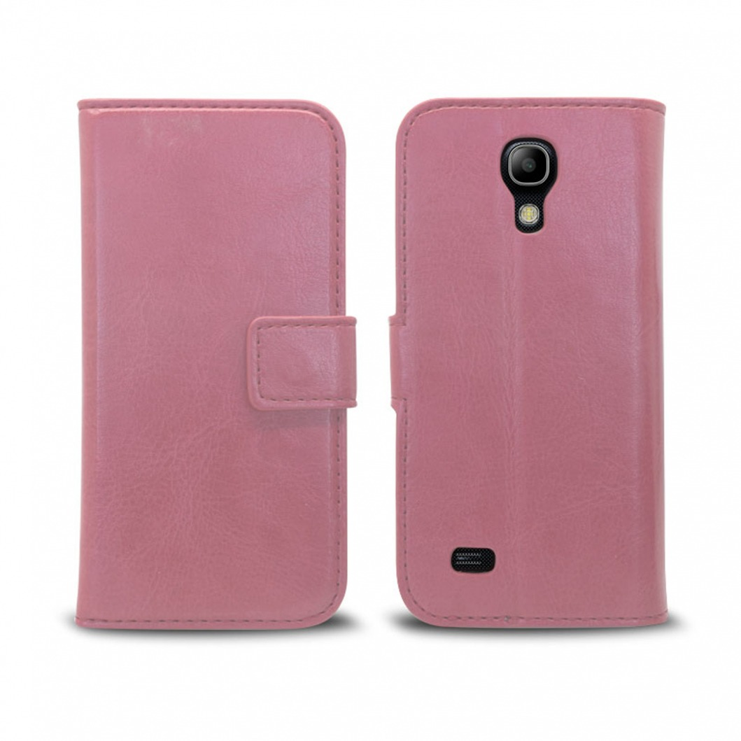smart cover samsung galaxy s4 mini cuirette marbr e rose. Black Bedroom Furniture Sets. Home Design Ideas