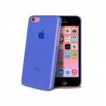 Visuel unique de Coque Ultra Fine 0.3mm Frost iPhone 5C Bleue