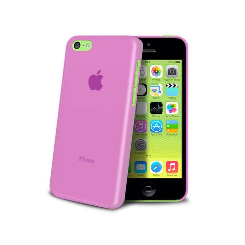 Visuel supplémentaire de Coque Ultra Fine 0.3mm Frost iPhone 5C Rose