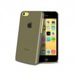 Vue complémentaire de Coque Ultra Fine 0.3mm Frost iPhone 5C Noire