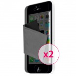 Zoom sur Films de protection Privacy Anti-Reflet iPhone 5C Clubcase ® Lot de 2