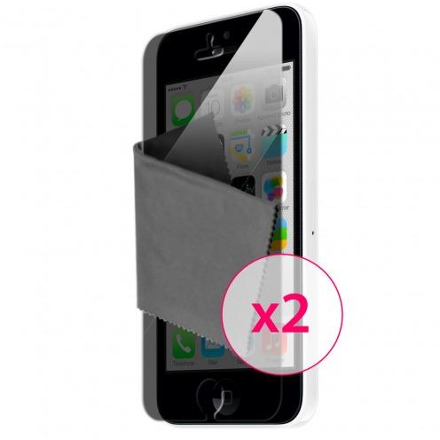 Zoom sur Films de protection Privacy iPhone 5C Clubcase ® Lot de 2