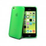 Vue détaillée de Coque IPhone 5C® Frozen Ice Extra Fine Verte