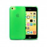 Zoom sur Coque IPhone 5C® Frozen Ice Extra Fine Verte