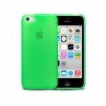 Photo réelle de Coque IPhone 5C® Frozen Ice Extra Fine Verte