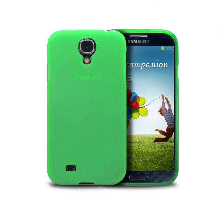 Visuel unique de Coque Samsung Galaxy S4 Frozen Ice Extra Fine Verte