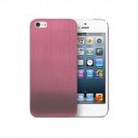 Zoom sur Coque Ultra-Fine 0,3 mm métal brossé Acero iPhone 5 / 5S Rose