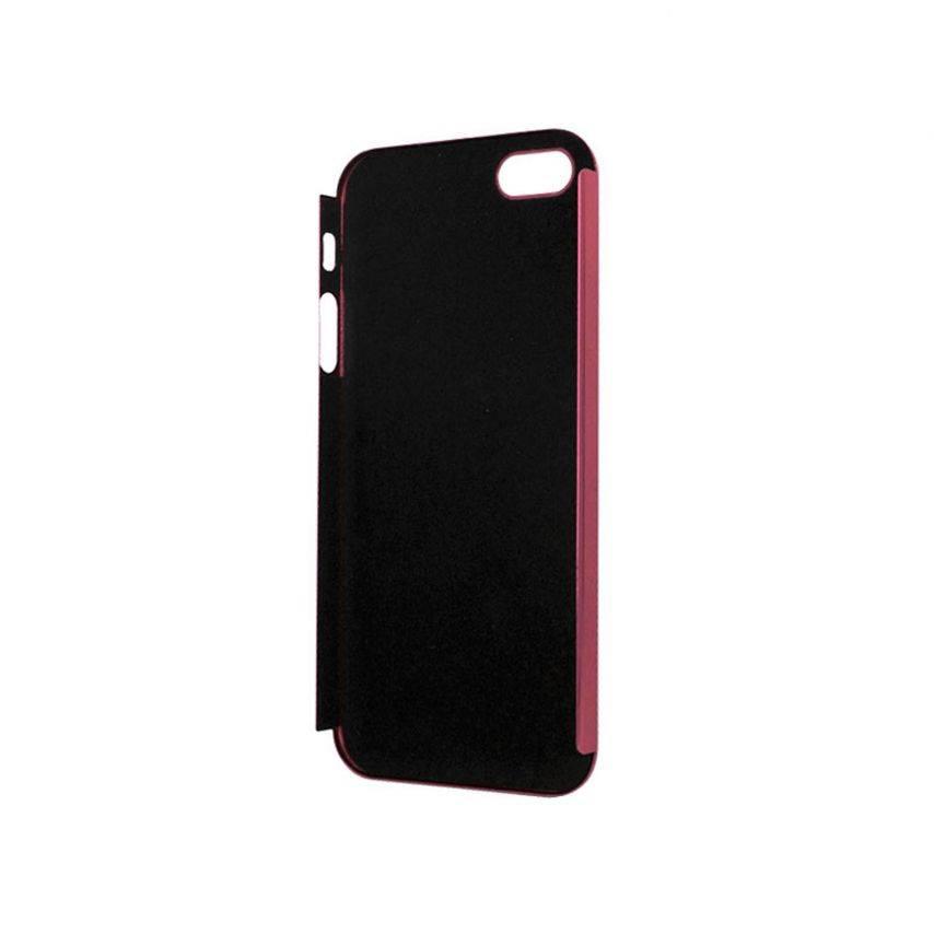 Visuel unique de Coque Ultra-Fine 0,3 mm métal brossé Acero iPhone 5 / 5S Rose