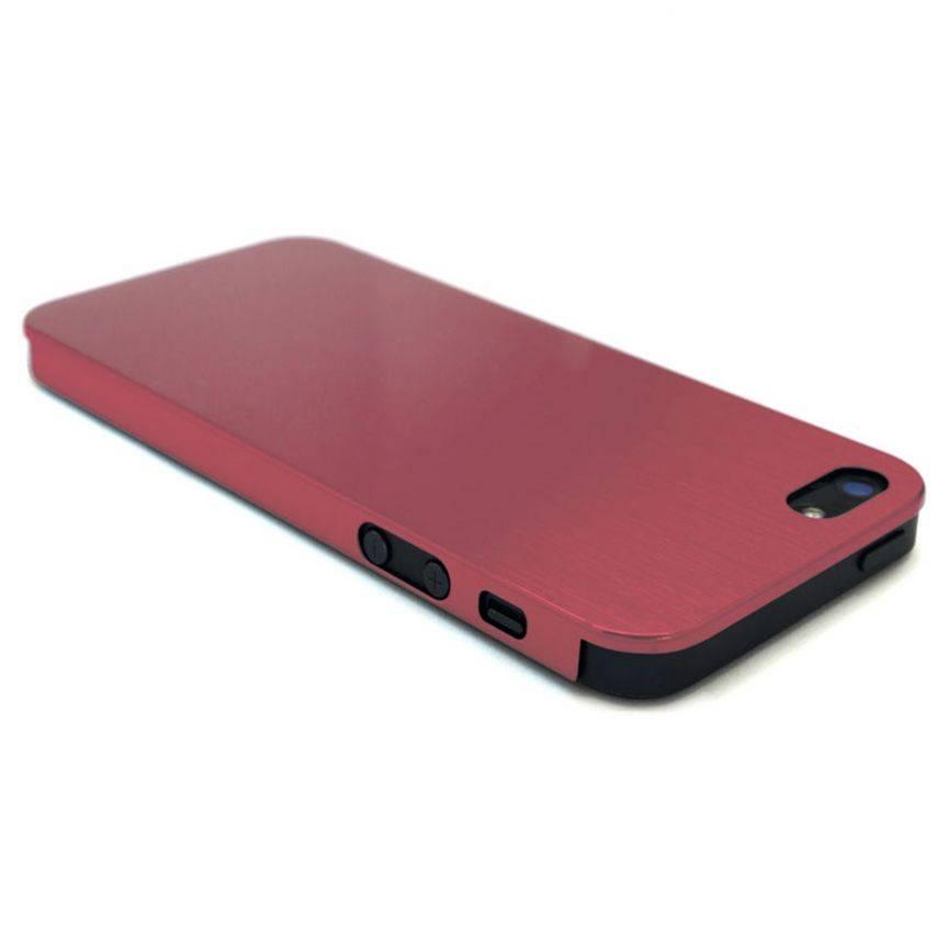 Visuel supplémentaire de Coque Ultra-Fine 0,3 mm métal brossé Acero iPhone 5 / 5S Rose