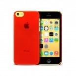 """Visuel supplémentaire de Coque """"Crystal"""" pour iPhone 5C Rouge"""