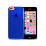 """Visuel unique de Coque """"Crystal"""" pour iPhone 5C Bleue"""