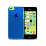 """Visuel supplémentaire de Coque """"Crystal"""" pour iPhone 5C Bleue"""