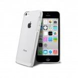 """Vue complémentaire de Coque """"Crystal"""" pour iPhone 5C Blanche"""