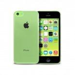 """Visuel unique de Coque """"Crystal"""" pour iPhone 5C Blanche"""